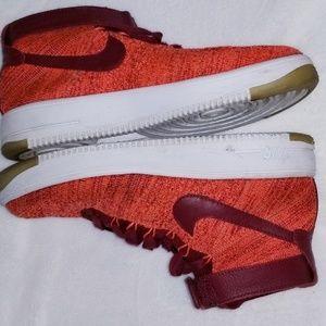 Nike Air force one flyknit women sneakers size 9